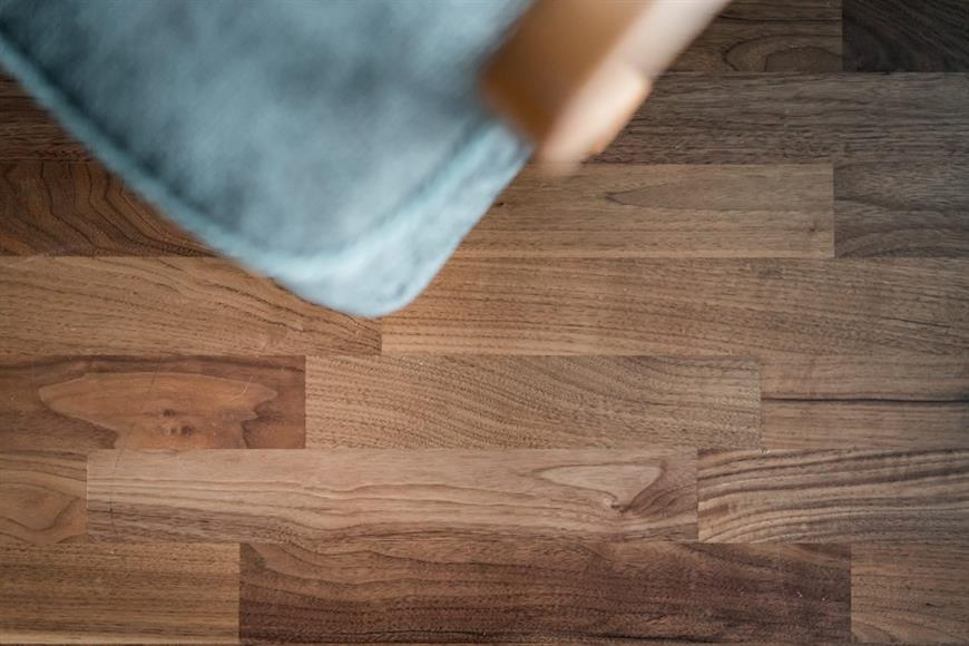 Härligt trä golv.