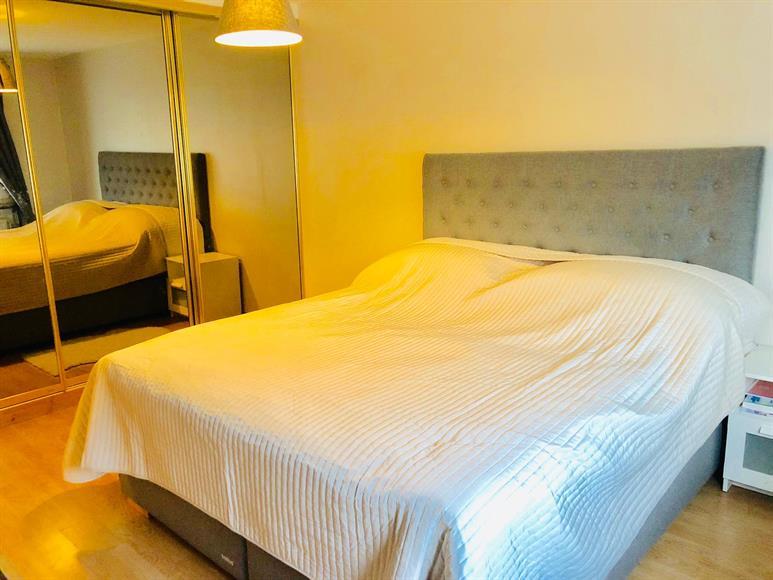 Bedroom1-with large glass wardrobe - Upper Floor