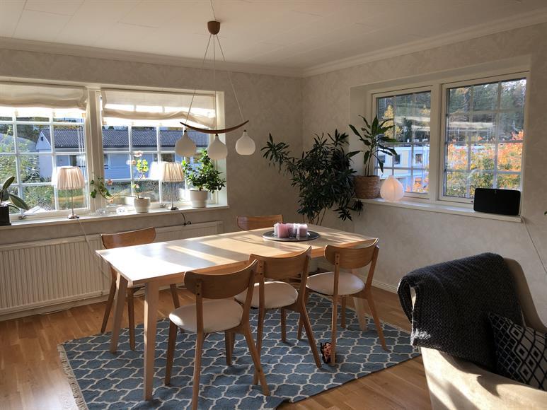 Matbord vardagsrum