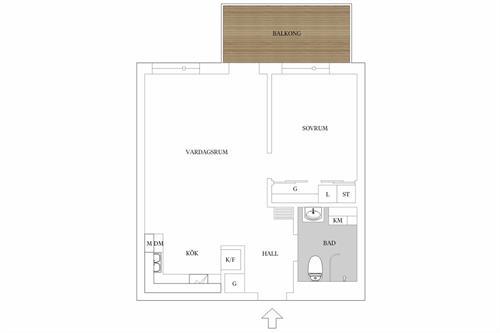 Ledig lägenhet i Järfälla